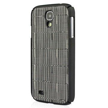 Samsung Galaxy S4 I9500 I9505 Macally Weave Snap-on Napsautuskotelo Musta