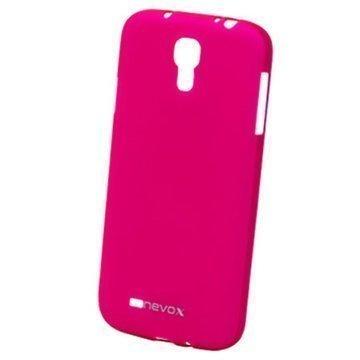Samsung Galaxy S4 I9500 I9505 Nevox Styleshell Suojakuori Pinkki