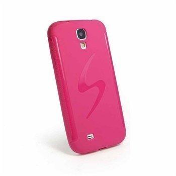Samsung Galaxy S4 I9500 I9505 Tuff-Luv E-Volve S Suojakotelo Pinkki