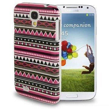 Samsung Galaxy S4 I9500 I9505 Tuff-Luv Navajo Aztec Kotelo Istu