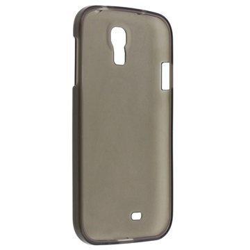 Samsung Galaxy S4 I9500 I9505 Xqisit Flex TPU-Kotelo Musta