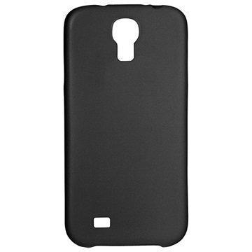 Samsung Galaxy S4 I9500 I9505 Xqisit iPlate Ultra Thin Suojakuori Musta