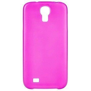 Samsung Galaxy S4 I9500 I9505 Xqisit iPlate Ultra Thin Suojakuori Pinkki