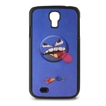 Samsung Galaxy S4 I9500 Ksix Carcasa 3D Freestyle Kuori Angry Smile / Vihainen Hymy