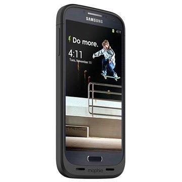 Samsung Galaxy S4 I9500 Mophie Juice Pack Akkukotelo Musta