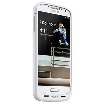 Samsung Galaxy S4 I9500 Mophie Juice Pack Akkukotelo Valkoinen