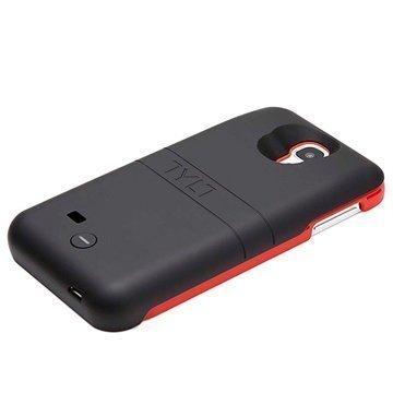 Samsung Galaxy S4 I9500 Tylt Energi Sliding Virtakotelo / Ulkoinen Akku Punainen