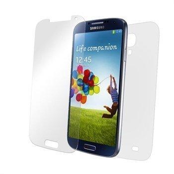 Samsung Galaxy S4 I9500 ZAGG InvisibleShield Näytönsuoja Koko Puhelimen Peittävä