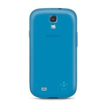 Samsung Galaxy S4 i9500 I9505 Belkin Grip Sheer Matte TPU Case Blue