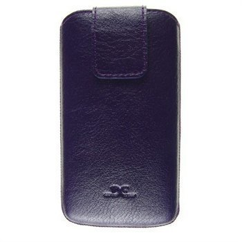 Samsung Galaxy S4 i9500 i9505 DC Trambolin Montone Nahkakotelo Violetti