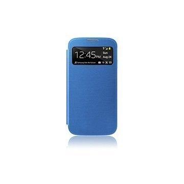 Samsung Galaxy S4 i9500 i9505 Naztech ID Flip Cover Blue