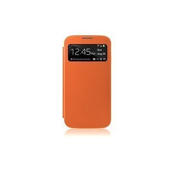 Samsung Galaxy S4 i9500 i9505 Naztech ID Flip Cover Orange