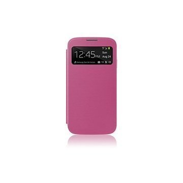 Samsung Galaxy S4 i9500 i9505 Naztech ID Flip Cover Pink