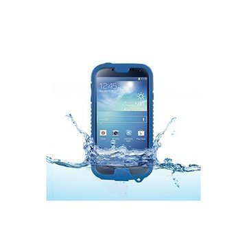Samsung Galaxy S4 i9500 i9505 Naztech Vault Waterproof Case Blue