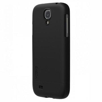 Samsung Galaxy S4 i9500 i9505 Skech Ohut Kova Kumipinnoitettu Kotelo Musta