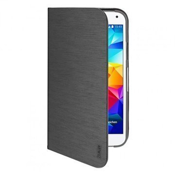 Samsung Galaxy S5 Artwizz SeeJacket Folio Avattava Kotelo Musta