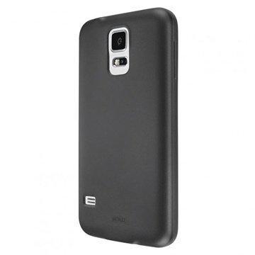 Samsung Galaxy S5 Artwizz SeeJacket TPU-Kotelo Musta