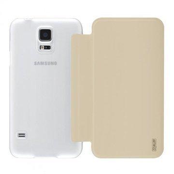 Samsung Galaxy S5 Artwizz SmartJacket Avattava Kotelo Kulta