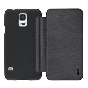 Samsung Galaxy S5 Artwizz SmartJacket Läppäkotelo Musta