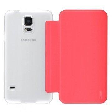 Samsung Galaxy S5 Artwizz SmartJacket Läppäkotelo Pinkki