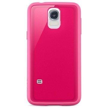 Samsung Galaxy S5 Belkin Protect Grip Vue TPU Suojakuori Pinkki