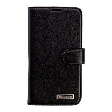 Samsung Galaxy S5 Commander Book Elite Nahkakotelo Musta