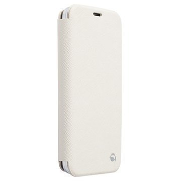 Samsung Galaxy S5 Krusell Malmö Wallet Leather Case White