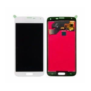 Samsung Galaxy S5 Näyttö Valkoinen
