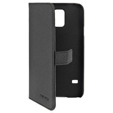 Samsung Galaxy S5 Nevox Ordo Folio Case Black / Grey