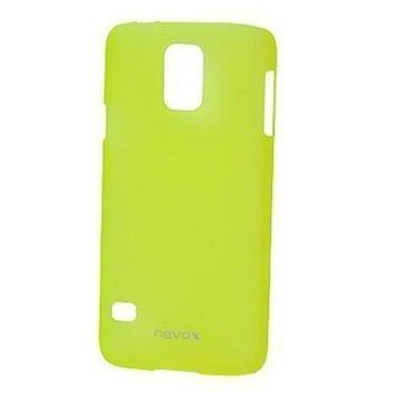 Samsung Galaxy S5 Nevox StyleShell Takakuori Vaalean Keltainen