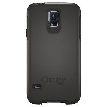 Samsung Galaxy S5 OtterBox Symmetry Kotelo Musta