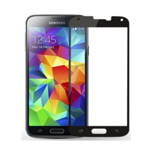 Samsung Galaxy S5 Panssarilasi 2.5d Full Cover Kulta
