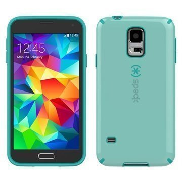 Samsung Galaxy S5 Speck CandyShell Cover Green / Caribbean Blue