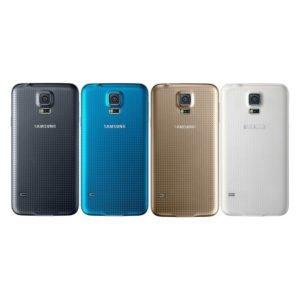 Samsung Galaxy S5 Takakansi Sininen