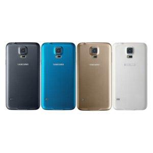 Samsung Galaxy S5 Takakansi Valkoinen