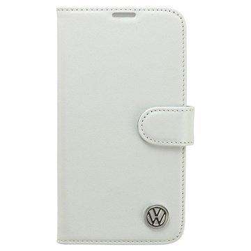 Samsung Galaxy S5 Volkswagen Book Nahkakotelo Valkoinen