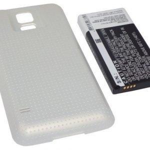 Samsung Galaxy S5 tehoakku 5600 mAh Erillisellä kultaisella takakannella