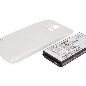 Samsung Galaxy S5 tehoakku 5600 mAh Erillisellä valkoisella takakannella