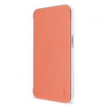 Samsung Galaxy S6 Artwizz SmartJacket Läppäkotelo Aprikoosi