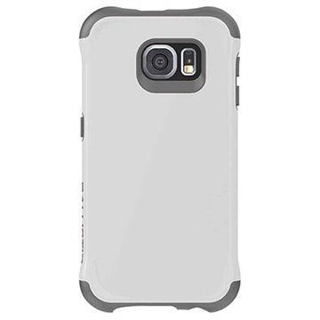 Samsung Galaxy S6 Ballistic Urbanite -Sarjan Kovakotelo Valkoinen / Harmaa