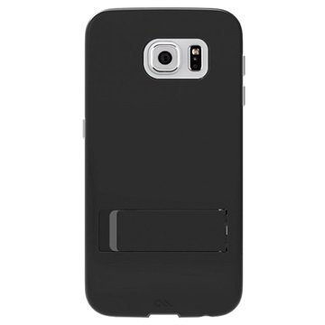Samsung Galaxy S6 Case-Mate Tough Seisontatukikotelo Musta / Titaani