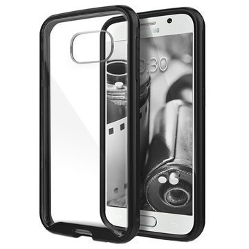 Samsung Galaxy S6 Caseology Waterfall Kuori Musta