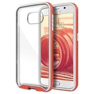 Samsung Galaxy S6 Caseology Waterfall Kuori Pinkki