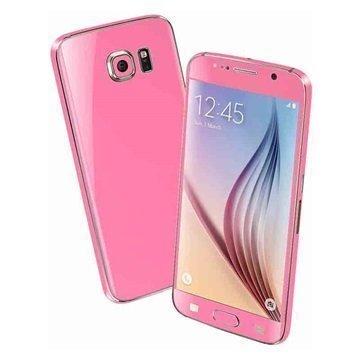 Samsung Galaxy S6 EasySkinz Matt Skin Pinkki