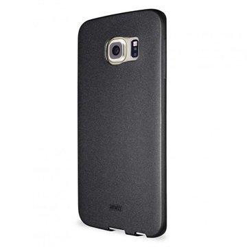 Samsung Galaxy S6 Edge Artwizz SeeJacket TPU-Kotelo Musta