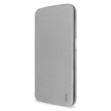 Samsung Galaxy S6 Edge Artwizz SmartJacket Läppäkotelo Harmaa