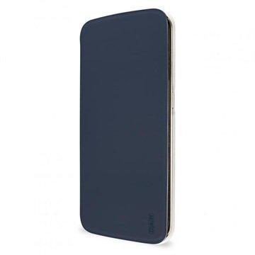 Samsung Galaxy S6 Edge Artwizz SmartJacket Läppäkotelo Sininen