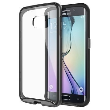 Samsung Galaxy S6 Edge Caseology Waterfall Kuori Musta