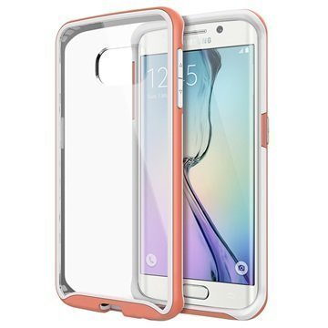 Samsung Galaxy S6 Edge Caseology Waterfall Kuori Pinkki