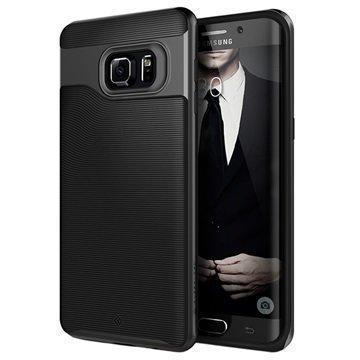 Samsung Galaxy S6 Edge+ Caseology Wavelength Suojakuori Musta